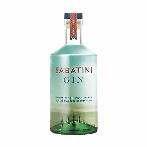 Sabatini Italian London gin from Tuscany Italy