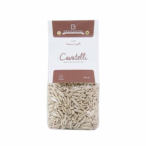 how to do original PastaCavatelli Senatore Cappelli durum wheat italian from Apulia Puglia Italy