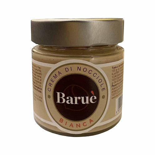 Baruè white gianduja craftmade sweet cream PGI Piedmont hazelnut shop online italian food