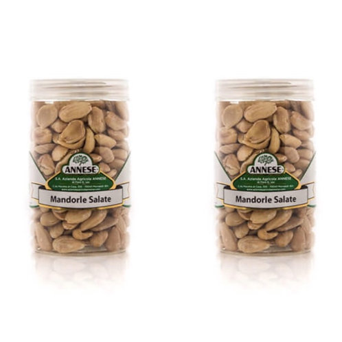 Salty almonds from Apulia (Box of 2x 250g)