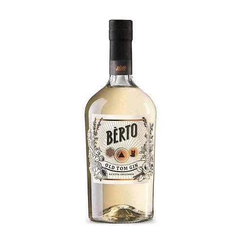 Italian old tom gin Berto Antica Distilleria Quaglia