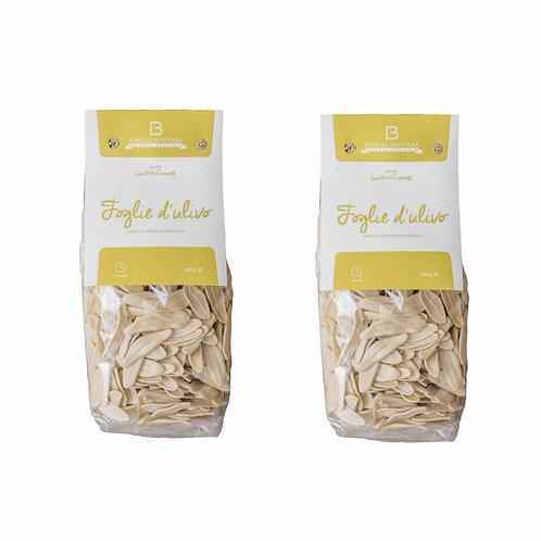 How to do pasta olive leaves senatore cappelli durum wheat italian from Puglia Apulia Italy