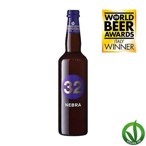 nebra italian vegan craft beer 32 via dei birrai brewed by italian microbrewery awarded