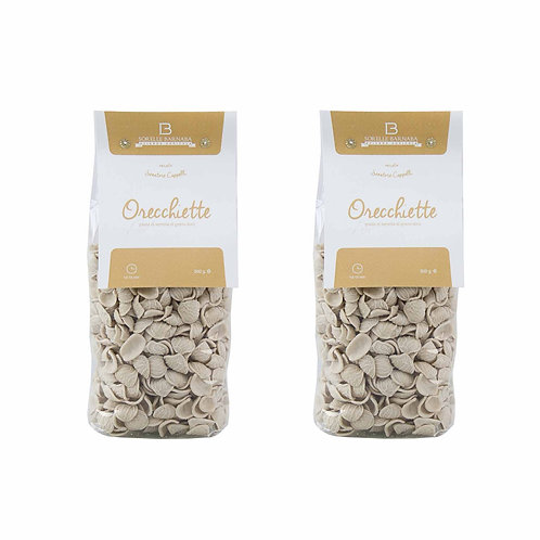 How to do pasta orecchiette senatore cappelli durum wheat italian from Puglia Apulia Italy