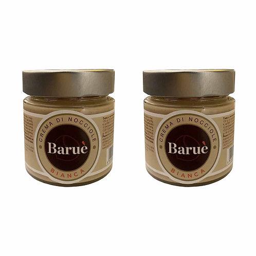 Baruè white gianduja craftmade sweet cream PGI Piedmont hazelnut shop online italian food
