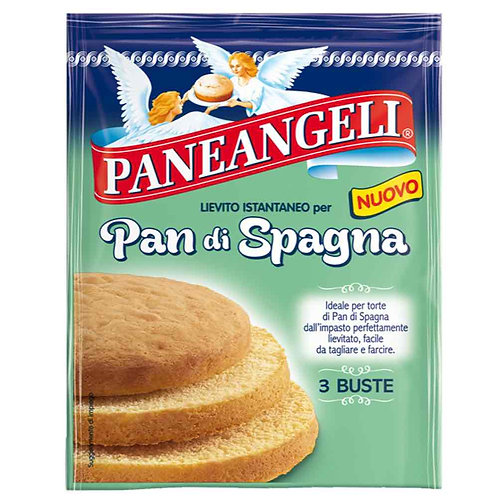 Paneangeli Instant Yeast for Sponge Cake - Lievito Istantaneo Pan di Spagna