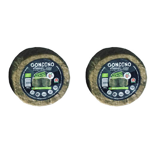 Gondino Smoked Black Chickpeas Organic vegan cheese Limited Edition