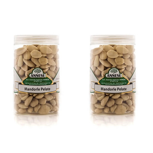 pickled peeled almonds from Apulia south Italy shop online appetizer aperitif like Italian