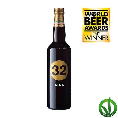 italian vegan craft beer 32 via dei birrai brewed by italian microbrewery awarded atra