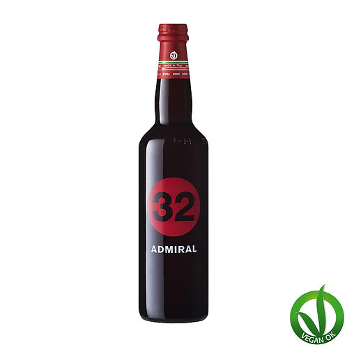 admiral italian vegan craft beer 32 via dei birrai brewed by italian microbrewery awarded