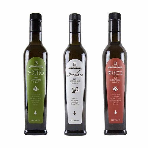 Extra virgin olive oil Sorelle Barnaba from Apulia Italy