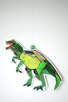 Mini mobile Dino Vert