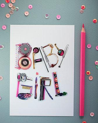 Carte cadeau It's a Girl