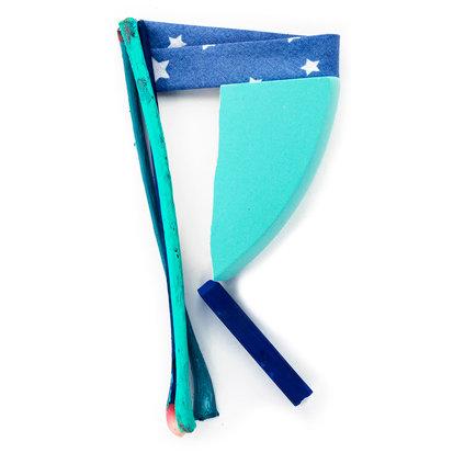 R Etoilé bleu