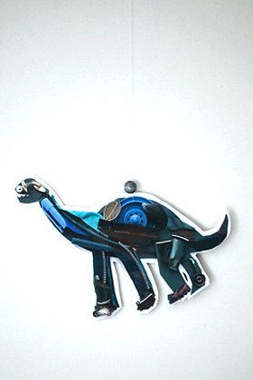 Mini mobile Dino bleu