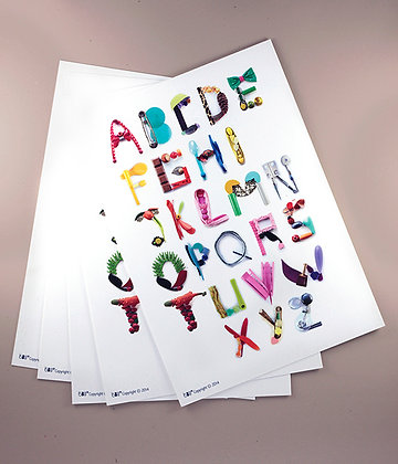 Carte cadeau Alphabet