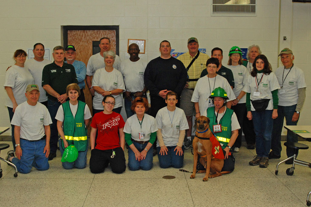 CERT drill march 2011 Kim and TW 3.jpg