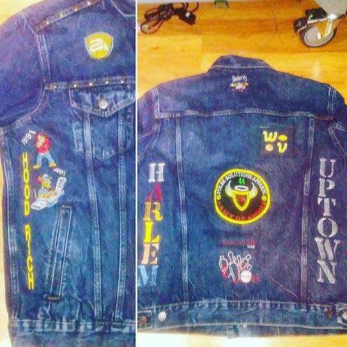 Jean Jacket Custom Made