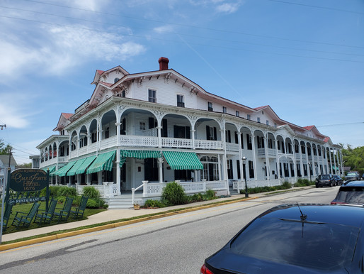 C'est bon Cape May: Tin House Parties & Meenie: The Satterfield Years. The Chalfonte Hotel pt.2