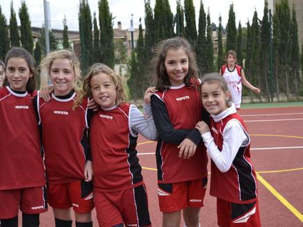 Nuestras chicas de basket ya están preparadas para el Torneo 3x3
