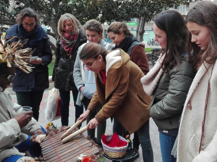 Desayunos solidarios por las calles de Zaragoza