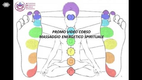Promo Video Corso di Massaggio Energetico Spirituale