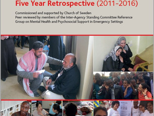Psychological First Aid: 5 year retrospective