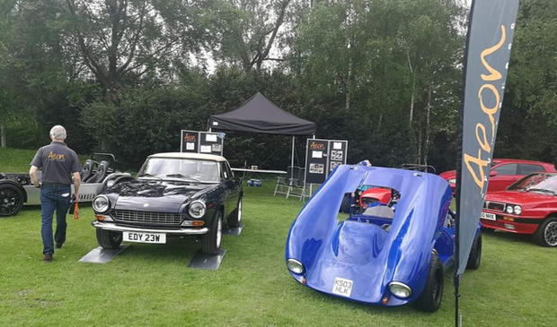 Leeds Castle show- Motors by the Moat 2018