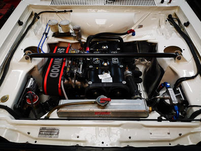 New BDG engine fitted in the Mk2 rally car