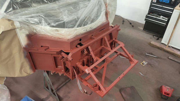Piper GTR chassis restoration