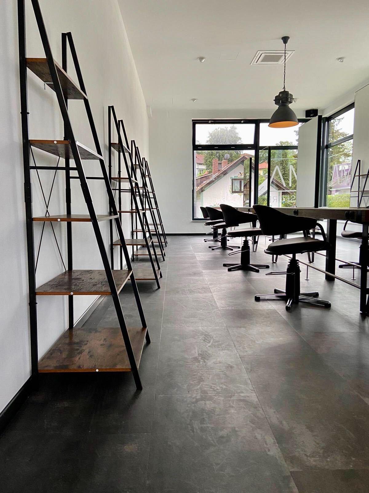 MA Friseure - Salon, Frisierplätze