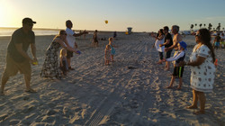 Y&FM Water Ballon Toss-Beach Party