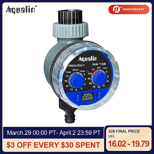 Garden Water Timer Ball Valve Automatic Electronic Watering Irrigation System