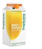 Tropicana Orange Juice:  Not So Orange!