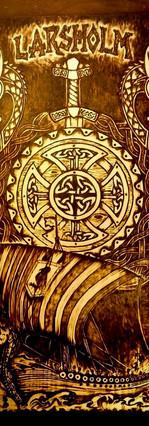 Viking Plaque