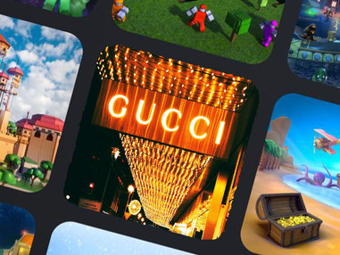 Luxury brands embracing the future with virtual worlds & gaming