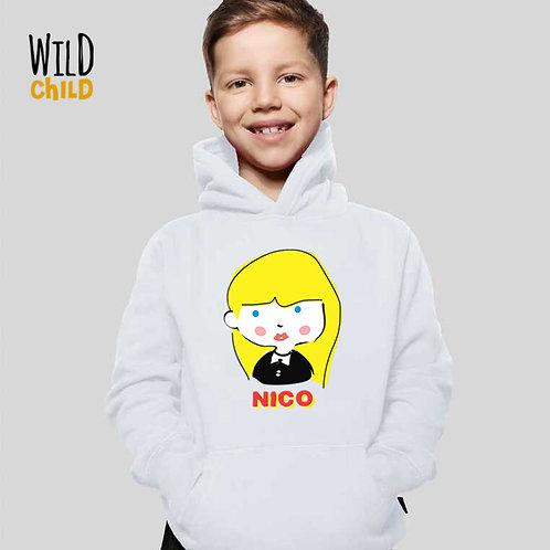 Moletom com Capuz Infantil - Nico - Wild Child