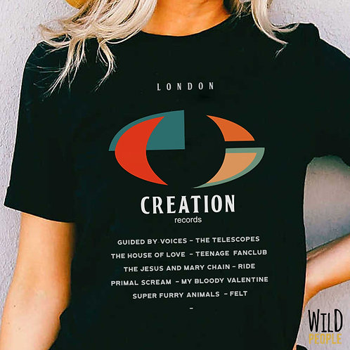 Camiseta Creation Records