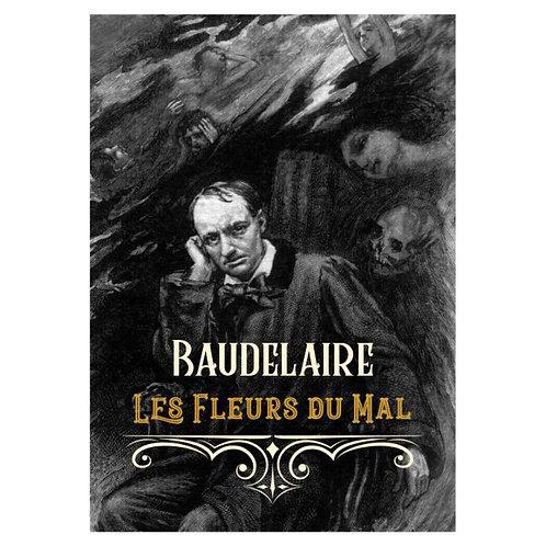 Camiseta Charles Baudelaire ( Le Fleurs Du Mal)