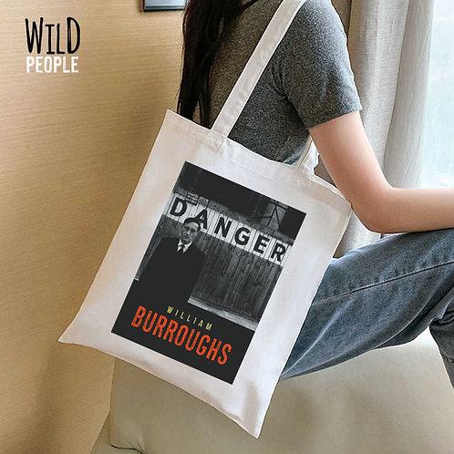 Ecobag William Burroughs - 100% Algodão Cru