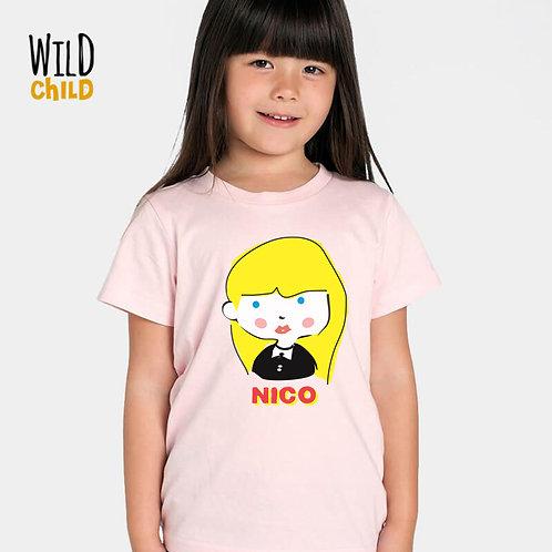 Camiseta Infantil Nico - Wild Child