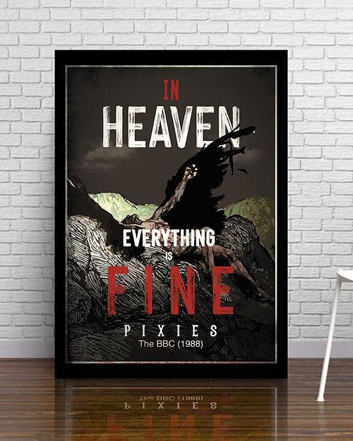 Poster In Heaven - Pixies