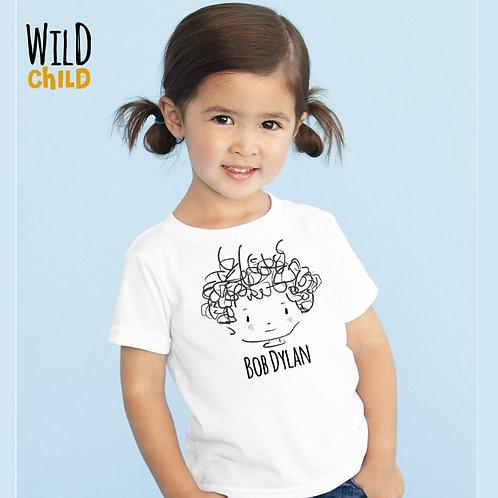 Camiseta Infantil Bob Dylan - Wild Child