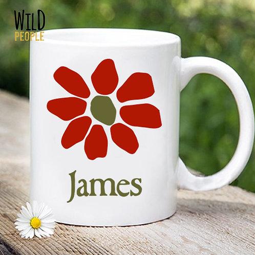 Caneca James - Porcelana 300 ML