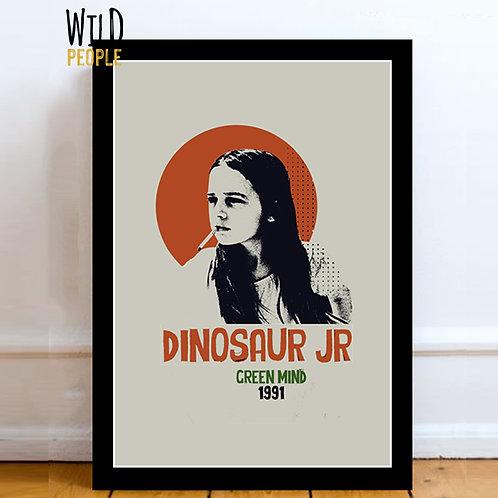 Quadro Dinosaur Jr -  Green Mind - 40cm x 60cm