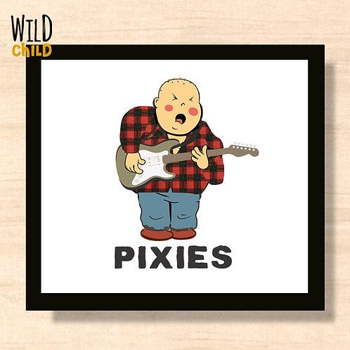 Quadro Infantil Pixies - 20cm x 20cm