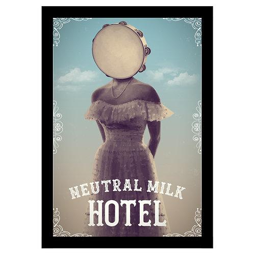 Quadro Neutral Milk Hotel