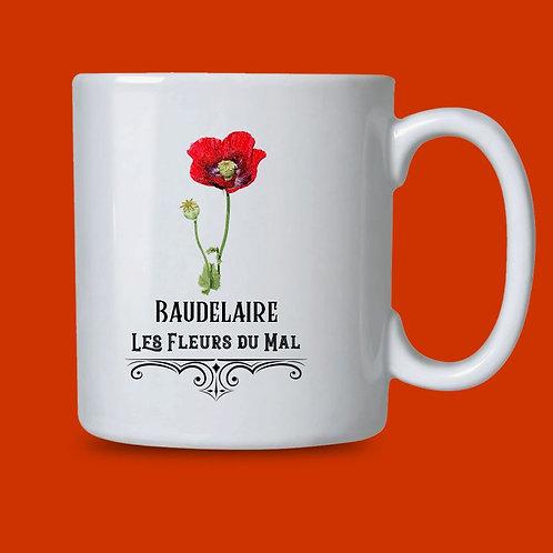 Caneca Baudelaire, Le Fleurs Du Mal