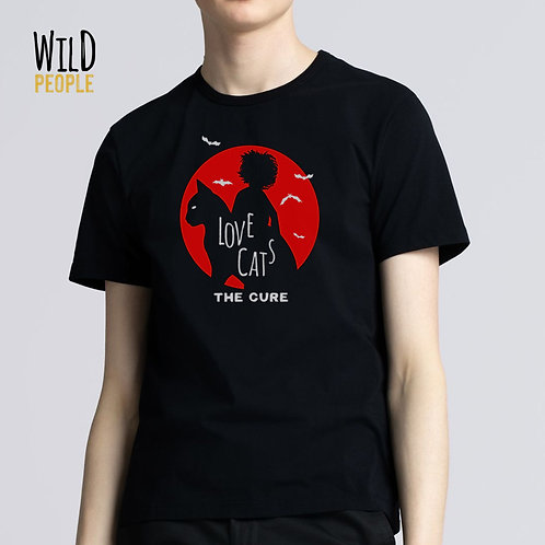 Camiseta The Cure - Love Cats