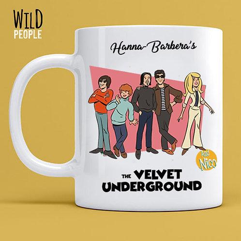 Caneca Velvet Underground - Porcelana 300 ML
